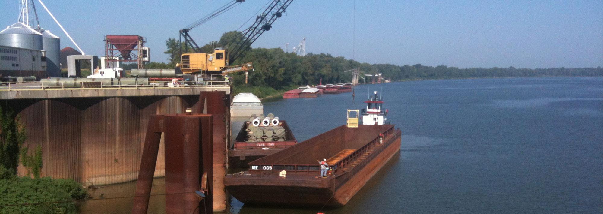 Barge-slide